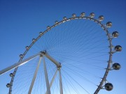 Las Vegas High Roller Overlooking SEMA Ignited 2014