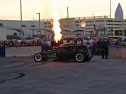 Welderup Diesel Rat Rod flaming exhaust SEMA 2014 Ignited GHP