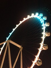 Las Vegas High Roller LinQ Ferris wheel Observation SEMA 2104 Ignited Global High Performance