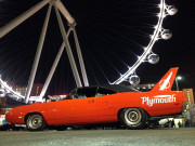 1970 Plymouth Superbird Orange Hotchkis Las Vegas High Roller SEMA 2104 Ignited LinQ Global High Performance