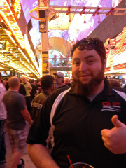 Ryan Ohrt SEMA 2014 Fremont street Las Vegas