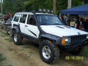 1995 Jeep Cherokee sand drag by GHP