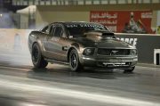 Yas Marina drag night nitrous injected 700ci Mustang by Alyasy 7