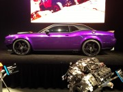 Bad ass purple Challenger hot rod
