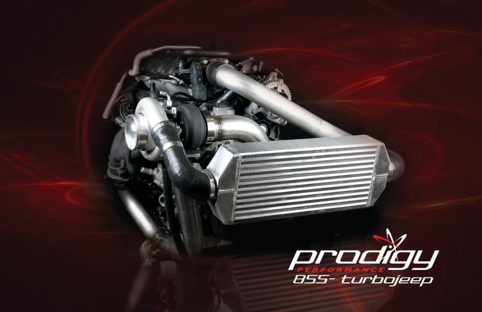 Prodigy 3.8L Jeep wrangler JK turbo kit